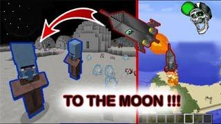 Minecraft: How to make a Working Rocket Ship *no mods*