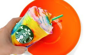 will-it-slime-turning-starbucks-tie-dye-frappuccino-into-slime-testing-no-glue-slime