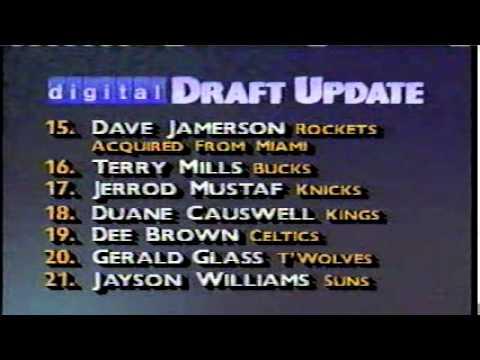1990 NBA Draft - TNT - part 12 of 12