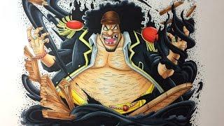 Drawing Marshall D. Teach (Blackbeard) - One Piece