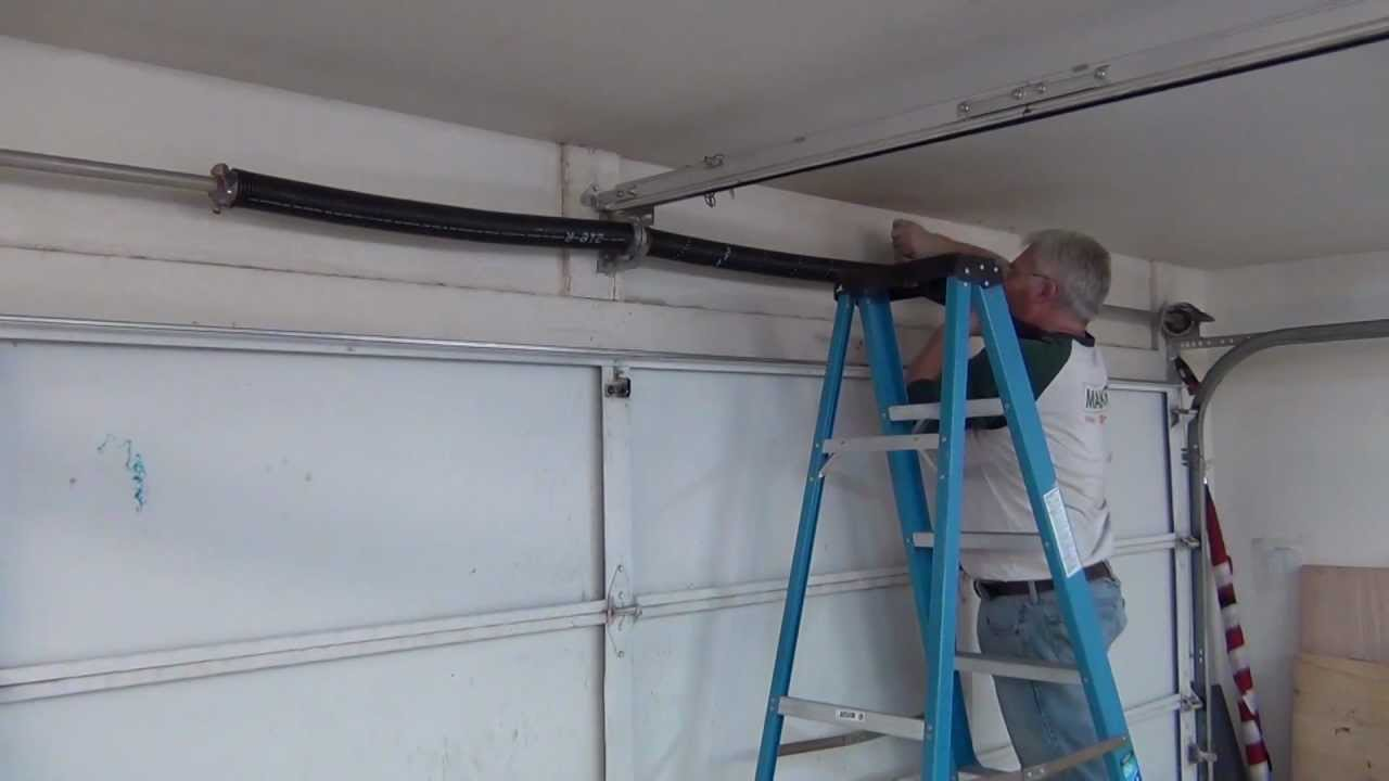 Toddfun Com Garage Door Spring Replacement Youtube
