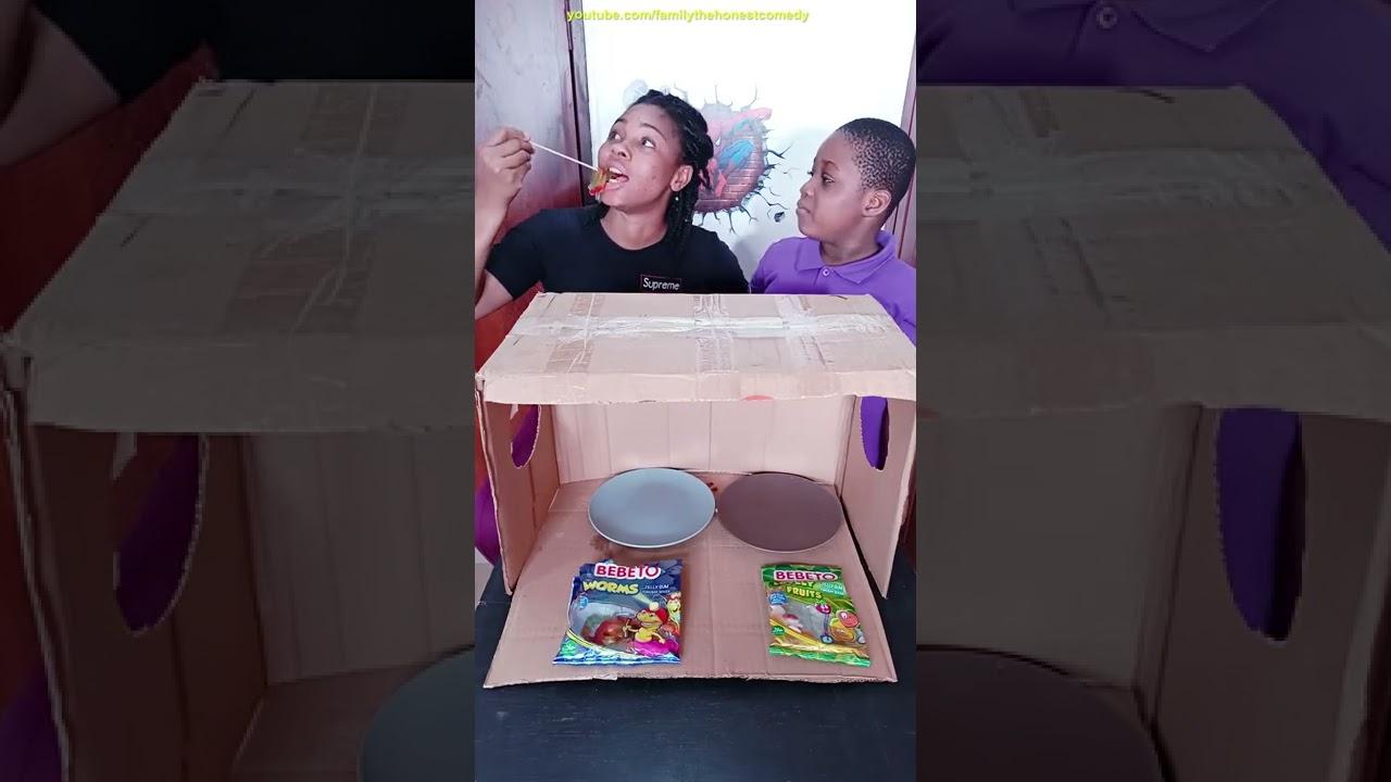 Best Funniest TikTok Food Challenge Mukbang Candy Jelly ASMR GUMMY  #shorts Kids Funny Video ?? ep7