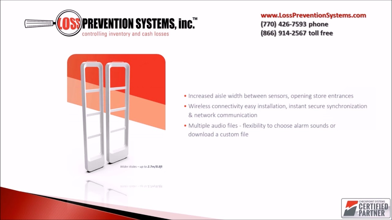 Latest Checkpoint E A S System - Loss Prevention Systems