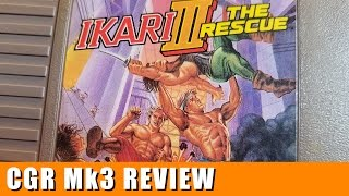 Classic Game Room - IKARI III: THE RESCUE review for NES