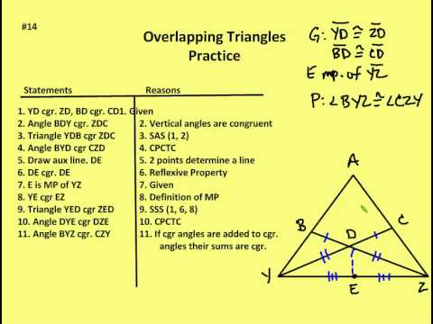 3 5 Overlapping Triangles Lesson And Practice