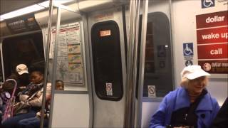 Train Ride: Washington Metro From Greenbelt to Smithsonian Station