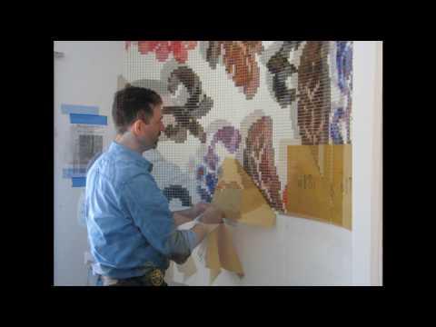 Installing Bisazza Glass Mosaic Tile