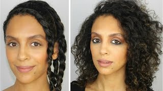 HOW TO: CHUNKY FLAT TWIST-OUT FOR FINE, CURLY HAIR   DISCOCURLSTV