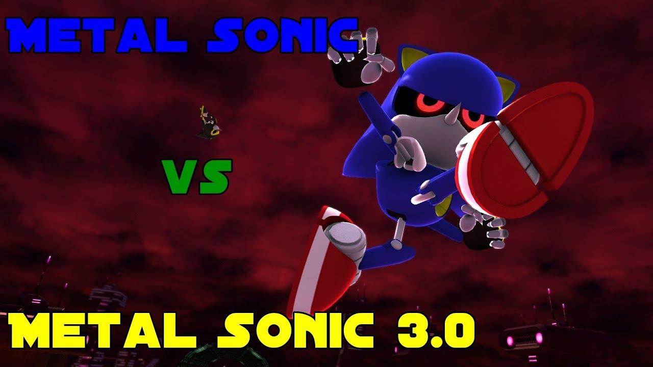 Sonic Generations (PC) - Metal Sonic vs Metal Sonic 3 0 by Gingerb0yy