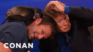 Animal Expert Dave Salmoni: Spider Monkey And Coyote Pup   CONAN on TBS