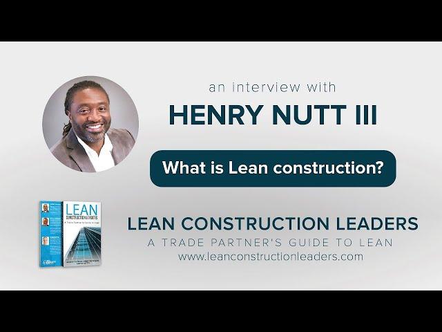 What is Lean construction? part.2