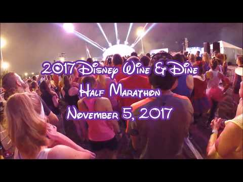 Running the 2017 Disney Wine & Dine Half Marathon - November 5, 2017