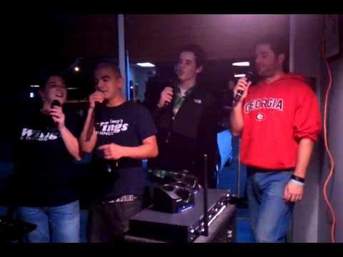 karaoke at Lucys Wings in Newborn GA