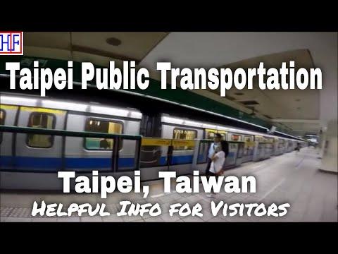 Taipei | Public Transportation | Travel Guide | Episode# 1