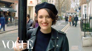 While rehearsing at the soho theatre in london, actress and playwright phoebe waller-bridge answers 73 questions. talks about success of her play-...