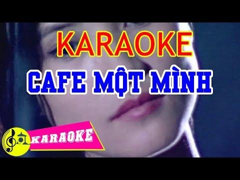 Cafe Một Mình Karaoke || Beat Chuẩn