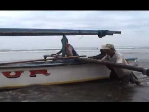 Fisherman Daily Activity at Bayah, Lebak District, Banten Province.wmv