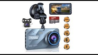 Dual Dash Cam Car Camera - Contain 32GB SD Card,Full HD 1080P Dash Camera(2019 Upgraded Version)