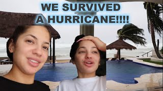 THERE WAS A HURRICANE ON OUR TRIP!! *REAL LIFE*