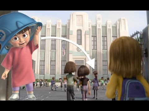 Thumbnail: Pixar Theory: Does Boo go to Riley's SCHOOL?