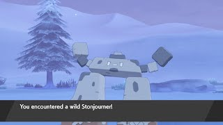 How to Catch Stonjourner - Pokémon Sword Exclusive