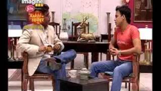 Ravi Kishan talks to Rishi Dwivedi - Rakhi Ka Swayamvar