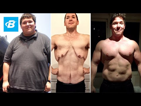 A Car Crash Motivated A 400-Pound Man To Transform His Body   Jordan Grahm's Transformation Story