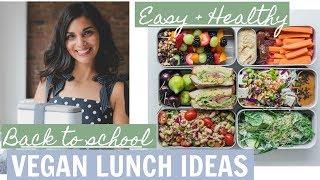 EASY VEGAN LUNCH IDEAS | bento box lunch ideas | healthy & quick