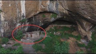 贵州深山发现一山洞,洞中住有一户人家,过着神仙般的日子
