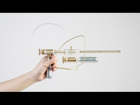 Yi-Fei Chen designs a gun for firing her tears