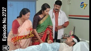 Manasu Mamata | 16th October 2019  | Full Episode No 2727 | ETV Telugu