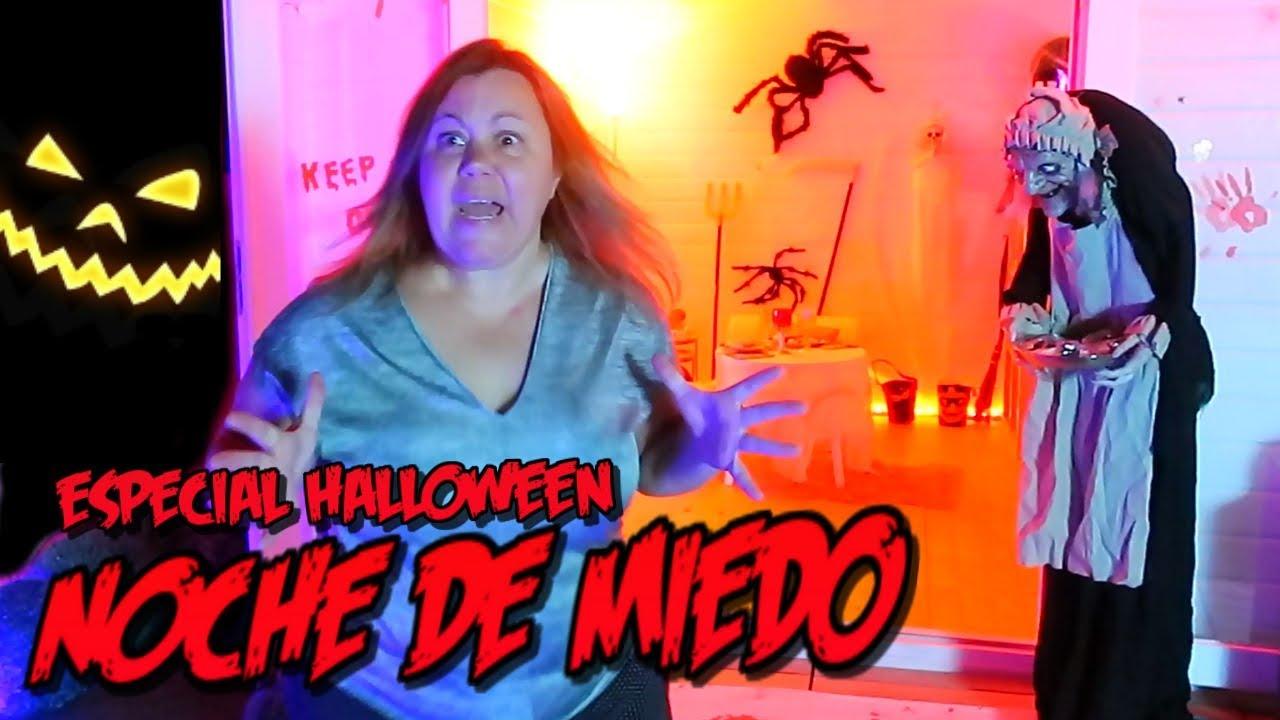 Especial De Halloween Noche De Miedo Y Muchos Sustos Youtube