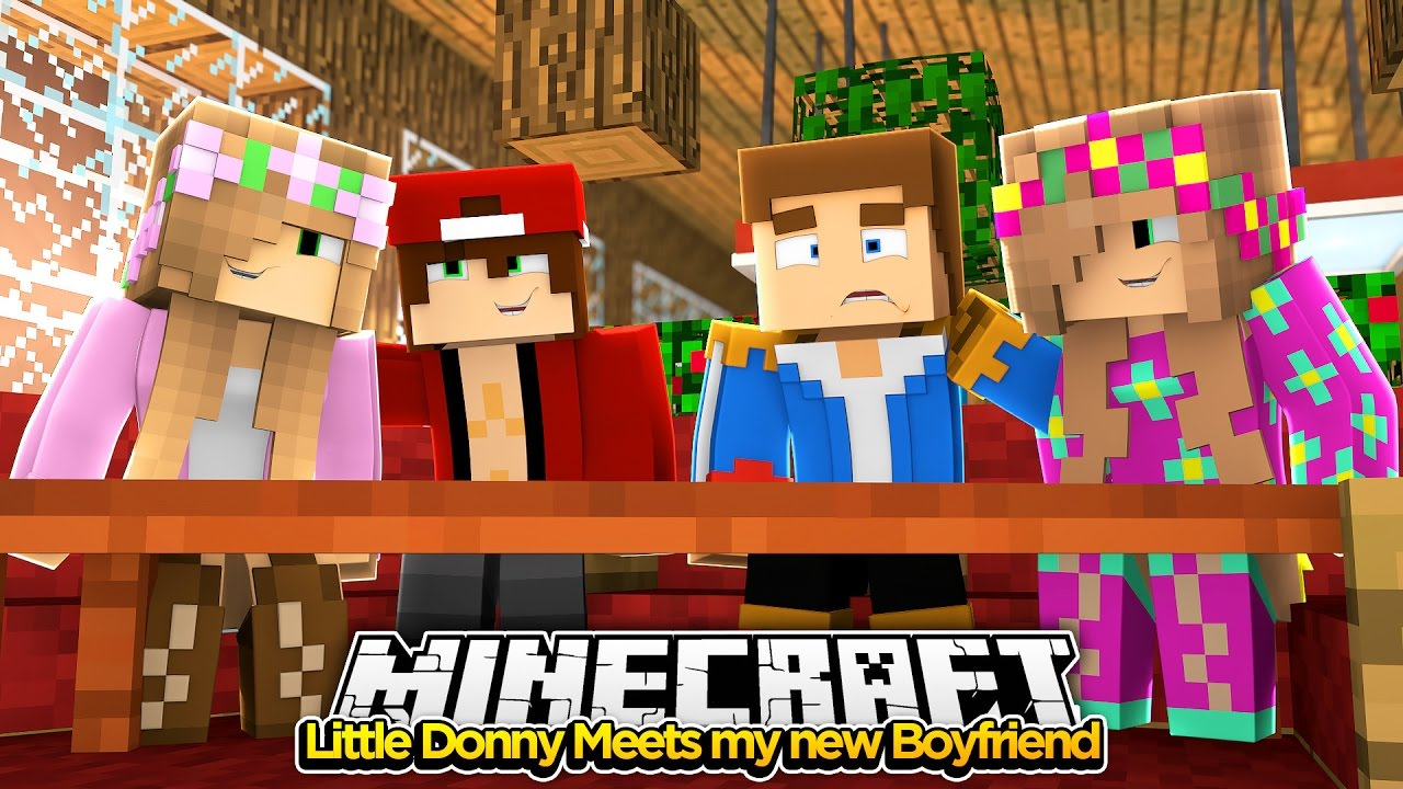 Minecraft Little Kelly : LITTLE DONNY MEETS MY NEW BOYFRIEND!