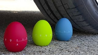 Aplastando Huevos de Colores!