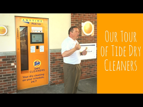 Tour of Tide Dry Cleaners