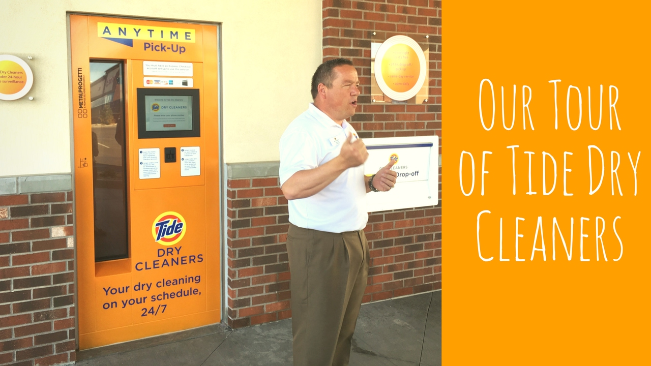 Tour of Tide Dry Cleaners - YouTube