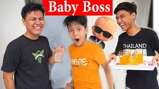 BABY BOSS | BECOMING PERSONAL ASSISTANT FOR 24 HOURS