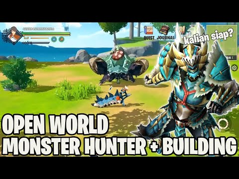 NEW MONSTER HUNTER Open World GAME Untuk ANDROID ( Moment Of Hunting: Open World Hunting Tour )