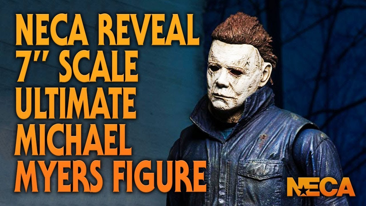 First Look at NECA Halloween (2018) Ultimate Michael Myers Figure