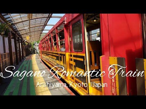 What to do in Arishiyama Kyoto Japan? Sagano Romantic Train