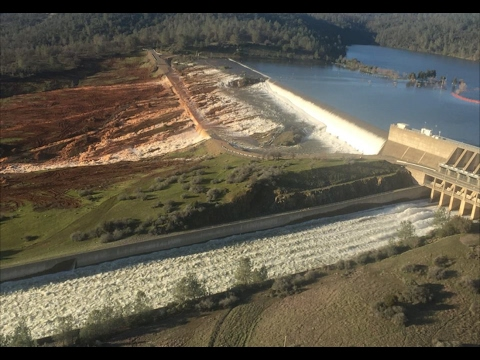Weather Modification Creating Catastrophic Failure Oroville Dam & Spillway