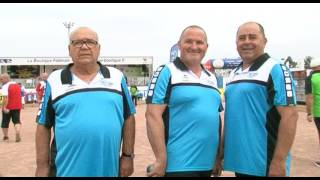 Championnat de France Triplette Jeu Provençal 2017 - Poules & 32èmes (Castelnaudary)