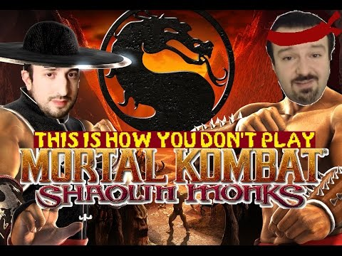 This Is How You DON'T Play Mortal Kombat Shaolin Monks (Co-Op With John Rambo)