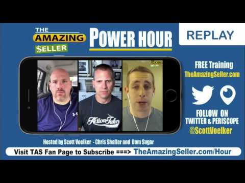 TAS Power Hour Ecommerce & Private Label Talk - Taking Action - 8/4/2017 - The Amazing Seller