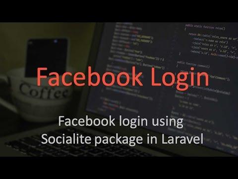 Facebook login in Laravel using Socialite   Part 1