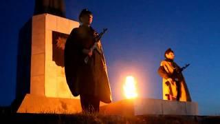 Факельное шествие Курганская область, р.п. Лебяжье 8 мая 2017 год