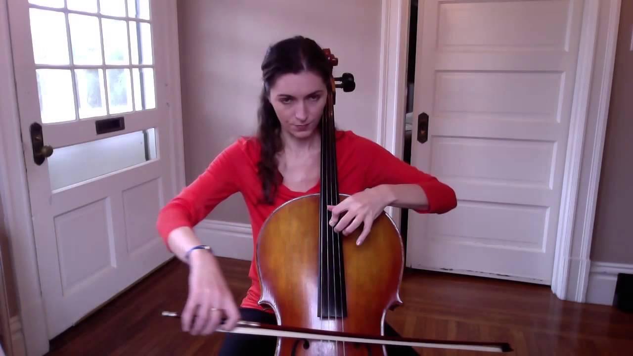 Goddess! cello position thumb moro! best pornstar