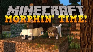 Minecraft: BECOME MOBS! USE THEIR ABILITIES! Metamorph Mod Showcase!