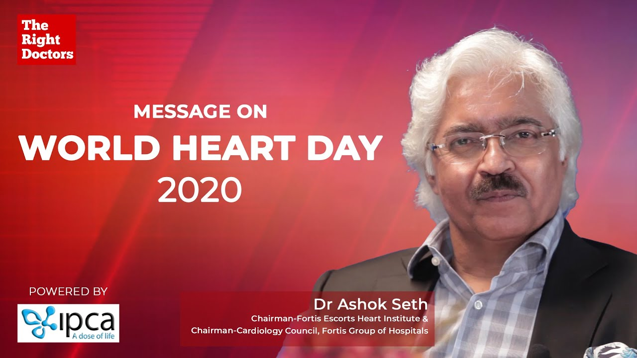 World Heart Day | Avoid these 6 S's for a Healthy Heart | Dr. Ashok Seth
