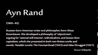 How to pronounce - Ayn Rand